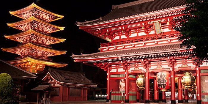 Mengunjungi Sensouji sang Legenda Jepang